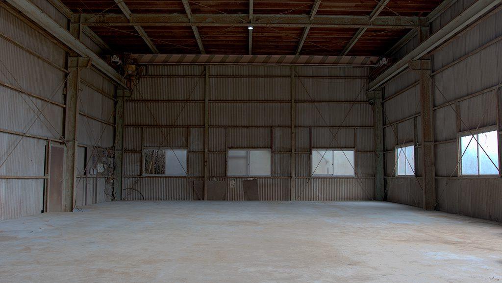 千葉県八千代市の大型工場・倉庫・廃墟系スタジオ 八千代スタジオ